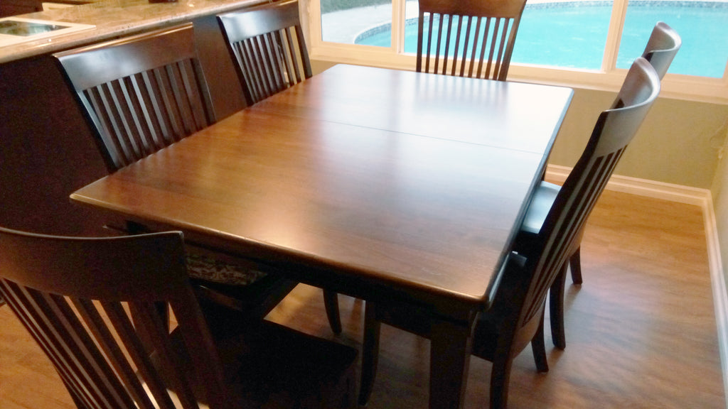 Ethan Dining Table and the Carlisle Dining Chair made in the USA