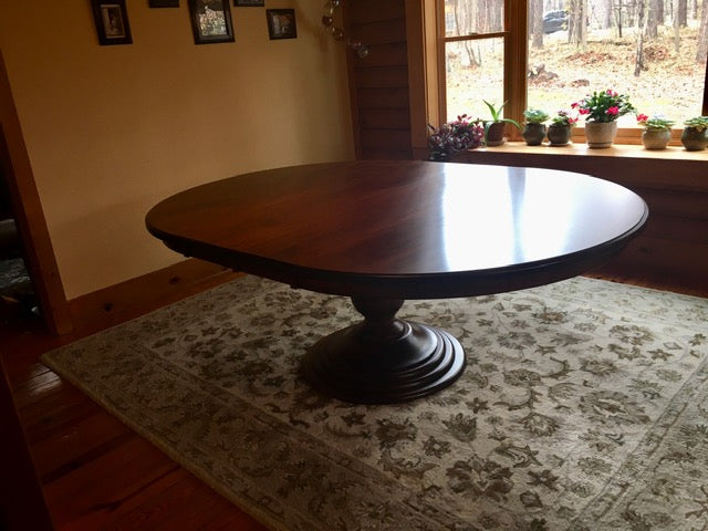 "Customer Photo of the 60"" Kingsley Single Pedestal with x2 12"" Leaves"
