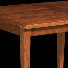 jacoby plank top table cherry wood detail by home and timber