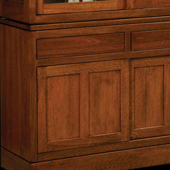 Kalispel Hutch Cherry Detail by Home and Timber