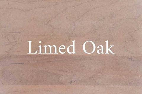 Limed Oak on Cherry