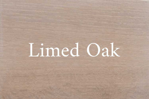 Limed Oak on Quarter Sawn White Oak