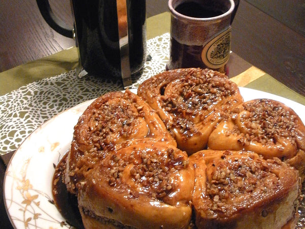 Maple Pecan Rolls Recipe | Home and Timber