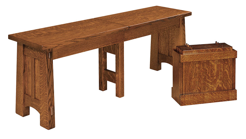 McCoy Expandable Dining Bench | Home and Timber