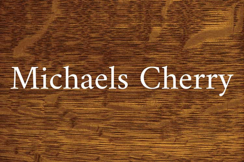Michaels Cherry on Quarter Sawn White Oak