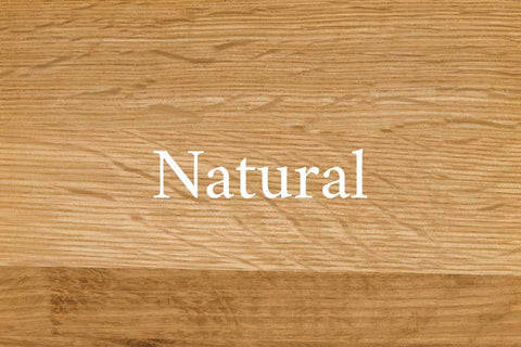 Natural Quarter Sawn White Oak