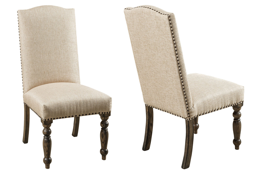 Corbin Upholstered Dining Chair Double | Home and Timber