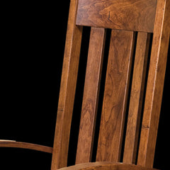 OuRay Dining Chair Cherry Wood Detail by Home and Timber