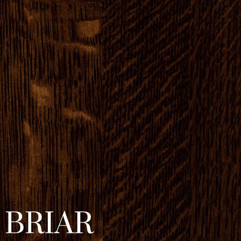 Briar Finish on Quarter Sawn White Oak by Home and Timber