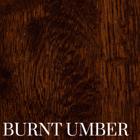 Burnt Umber Finish on Quarter Sawn White Oak by Home and Timber