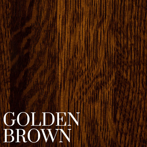 Golden Brown Finish on Quarter Sawn White Oak by Home and Timber