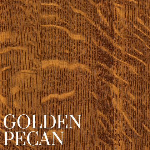 Golden Pecan Finish on Quarter Sawn White Oak by Home & Timber