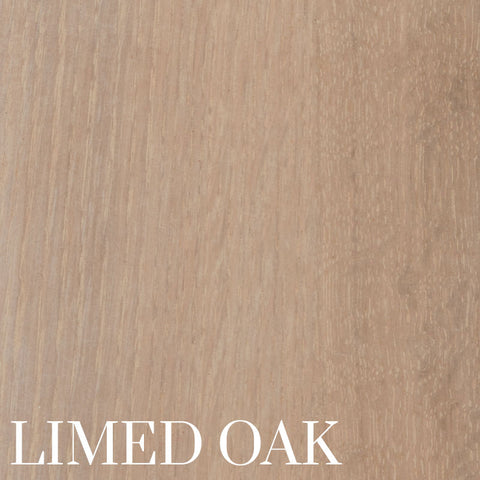 Limed Oak Finish on Quarter Sawn White Oak by Home and Timber