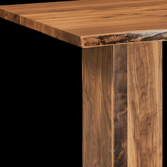 Rio Vista Live Edge Trestle Table in Walnut by Home and Timber
