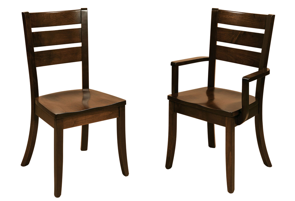 Savannah Hardwood Dining Chair Double | Home and Timber