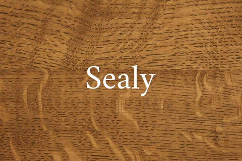 Sealy on Quarter Sawn White Oak