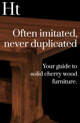 Your guide to solid cherry wood furniture by Home and Timber