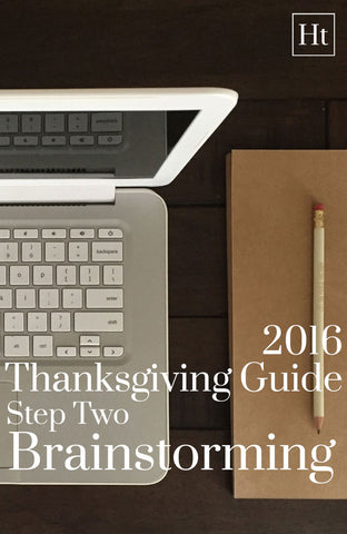 2016 Thanksgiving Guide | Step Two | Home and Timber