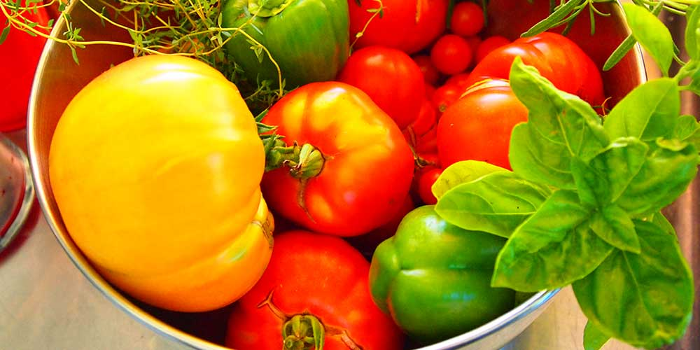 Vibrant Vegetable Picture | Home and Timber