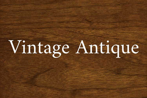 Vintage Antique on Walnut