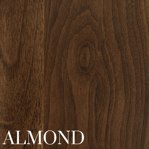 Almond on Walnut by Home and Timber