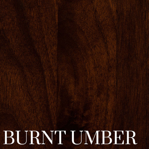 Burnt Umber Finish on Black Walnut by Home & Timber
