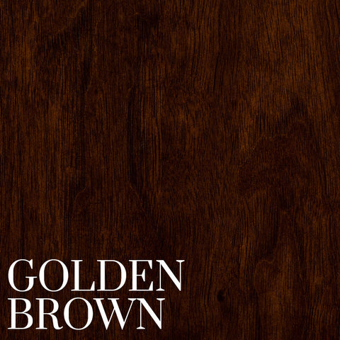 Golden Brown Finish on Black Walnut by Home & Timber