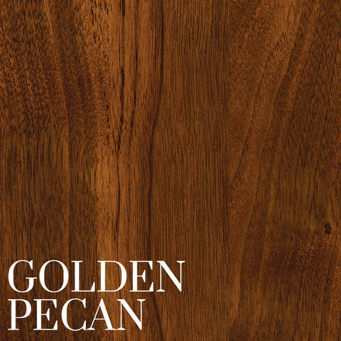 Golden Pecan Finish on Black Walnut by Home & Timber