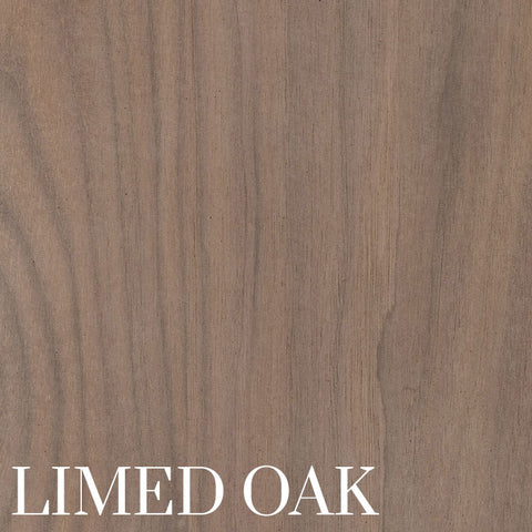 Limed Oak Finish on Black Walnut by Home & Timber