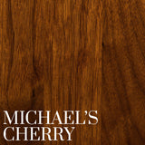 Walnut with a Michael's Cherry Finish | Stain Samples | Home and Timber