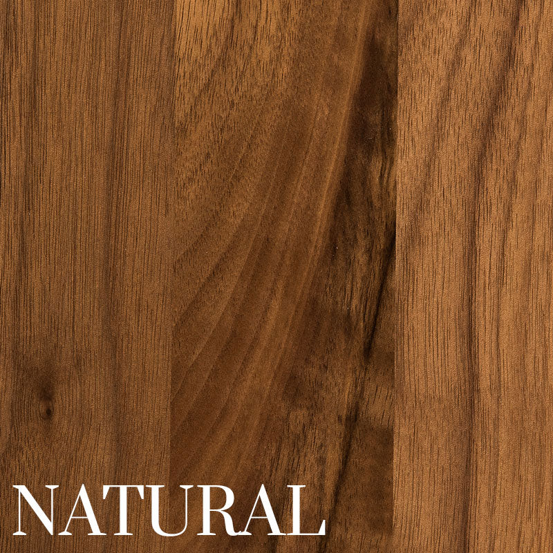 Walnut With A Natural Stain