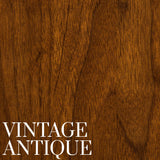 Walnut with a Vintage Antique Finish | Stain Samples | Home and Timber
