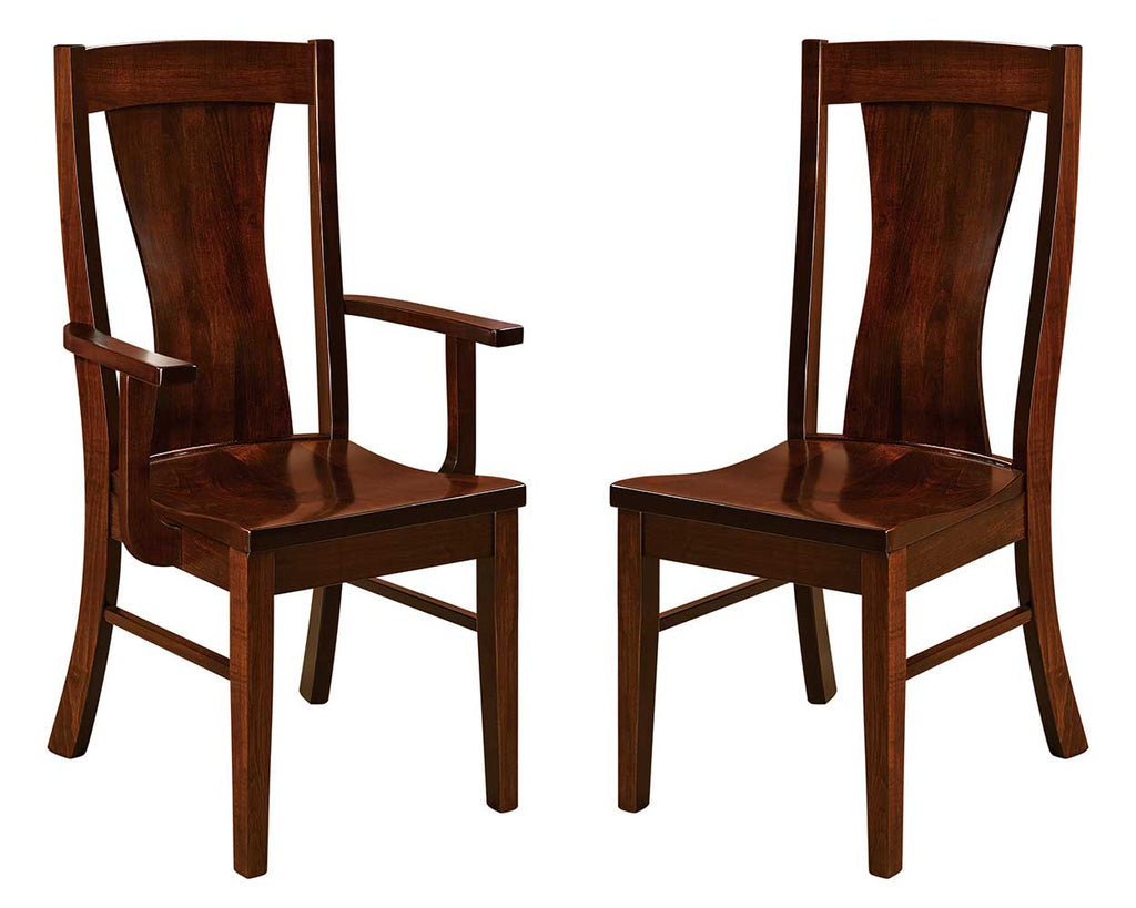 Westin Solid Wood Dining Chair Double | Home and Timber