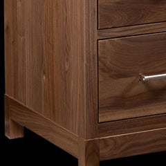 Westmere Bedroom Chest in Walnut by Home and Timber