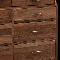 Westmere Dresser in Walnut with a Natural Finish by Home and Timber