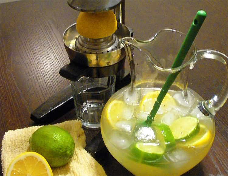 Almond Lemonade Recipe | Tasty Tuesday | Home and Timber