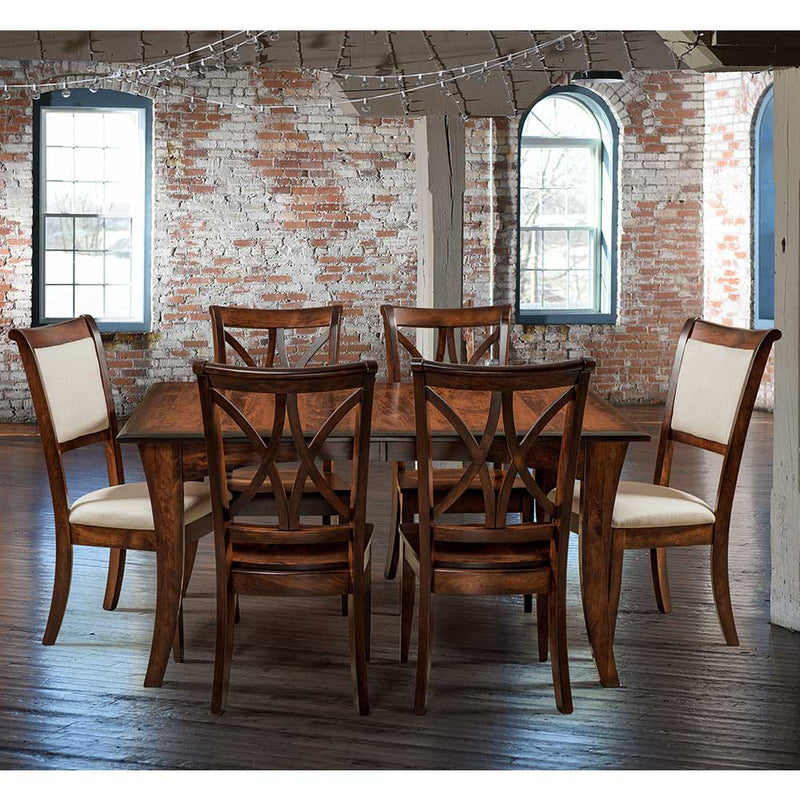 Adair Upholstered Dining Chairs with the Callahan Dining Chairs