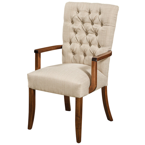 Alana Tufted Arm Chair by Home and Timber