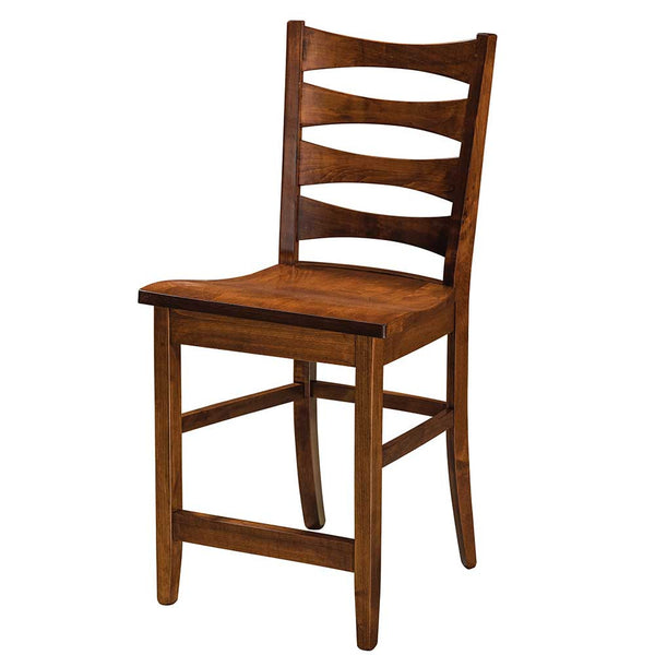 Armanda Solid Wood Bar Chair | Home and Timber