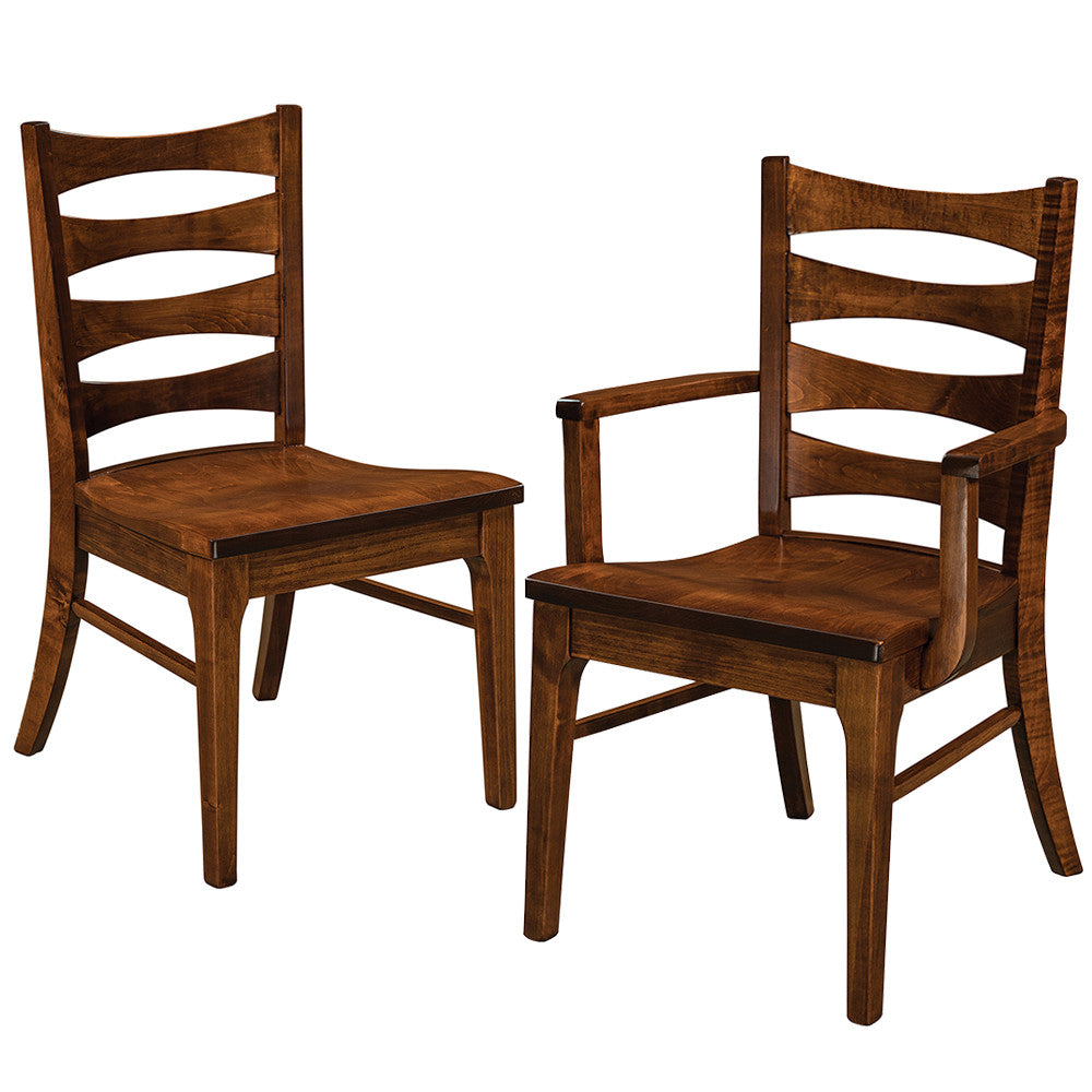 Armanda Solid Wood Dining Chairs by Home and Timber
