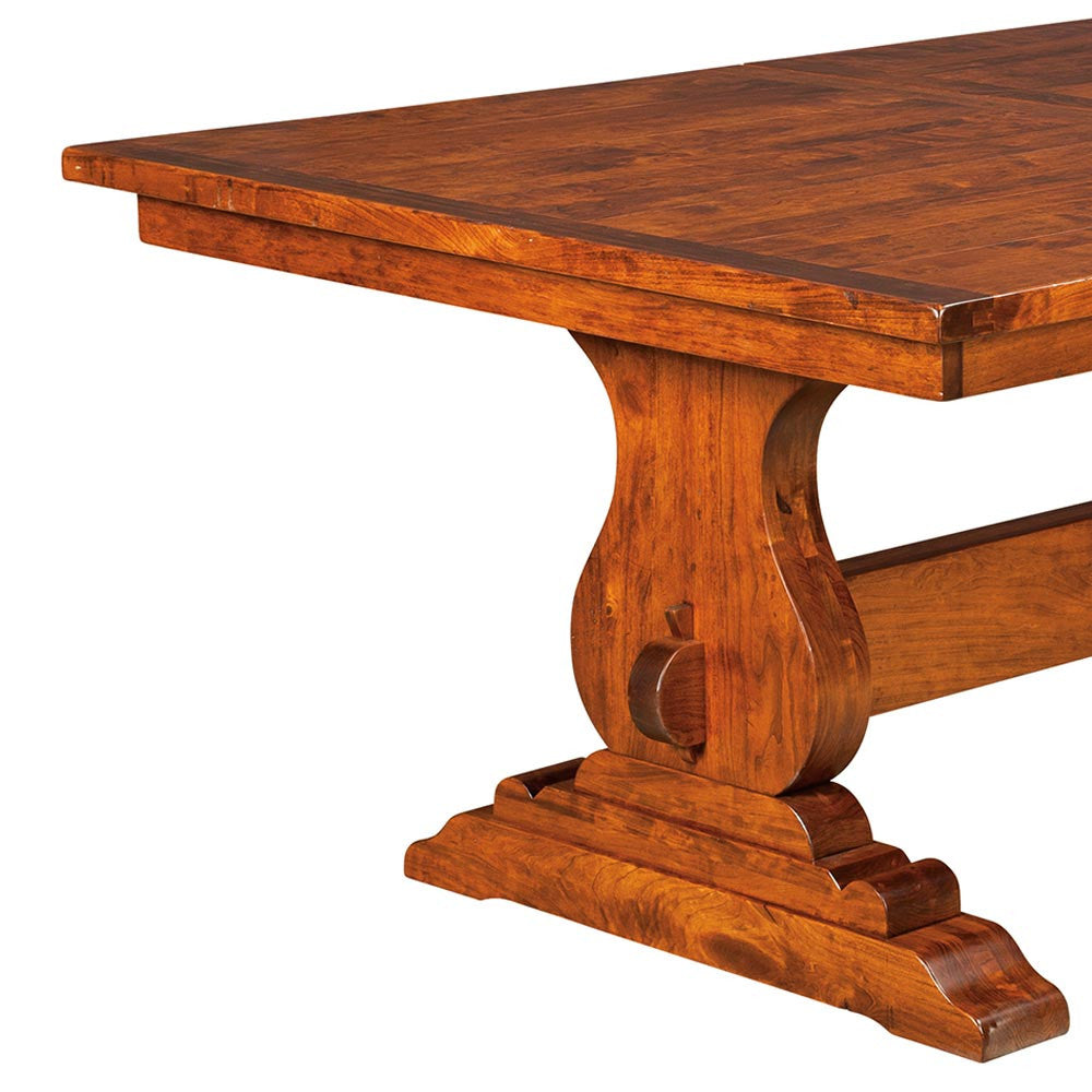 ... Austin Trestle Plank Top Extension Table | Home And Timber ...