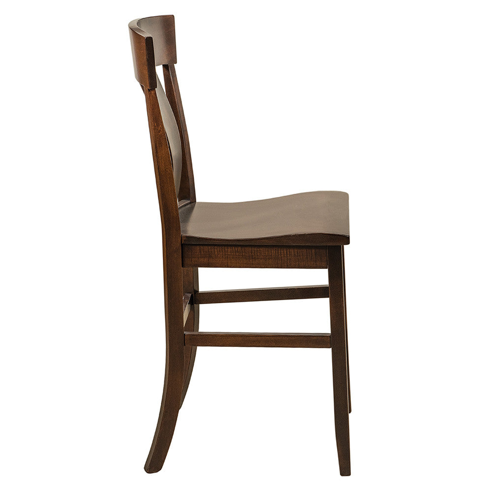 Side of Baldwin Stationary Bar Chair by Home and Timber
