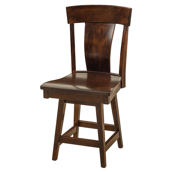 Baldwin Swivel Bar Chair by Home and Timber