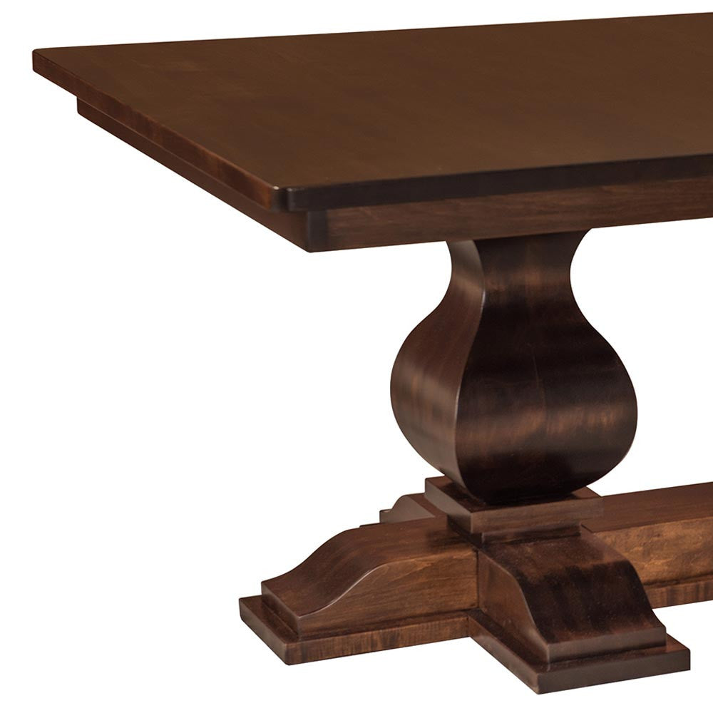 Barrington Double Pedestal Extension Table | Home and Timber