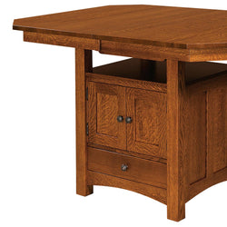 Bassett Cabinet Extension Bar Table | Home and Timber