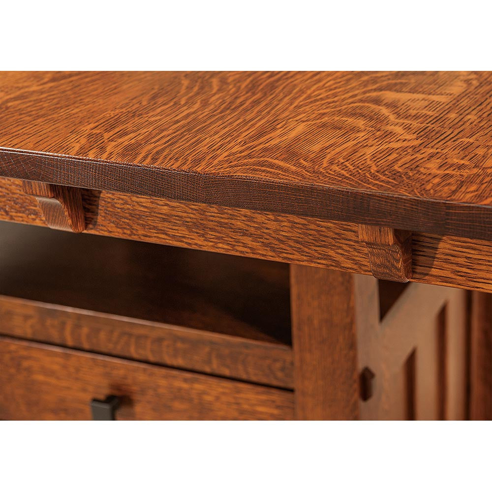 Beaumont Cabinet Bar Table | Table Edge | Home and Timber