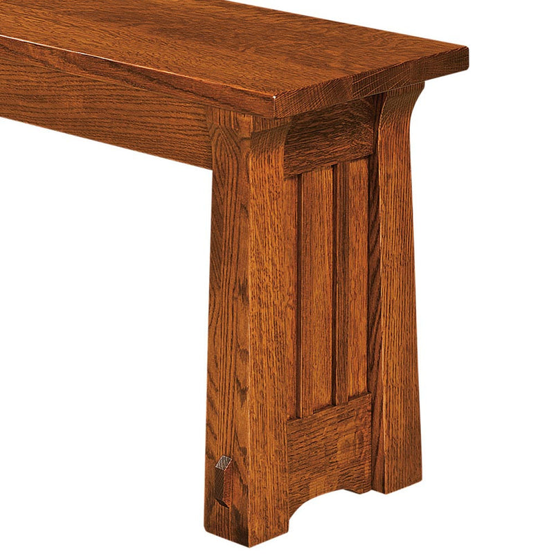 Beaumont Expandable Dining Bench Detail by Home and Timber
