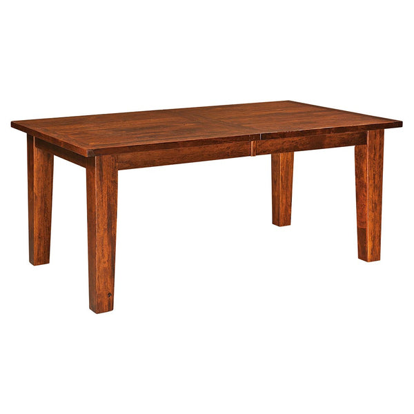 Benson Plank Top Leg Table | Full | Home and Timber
