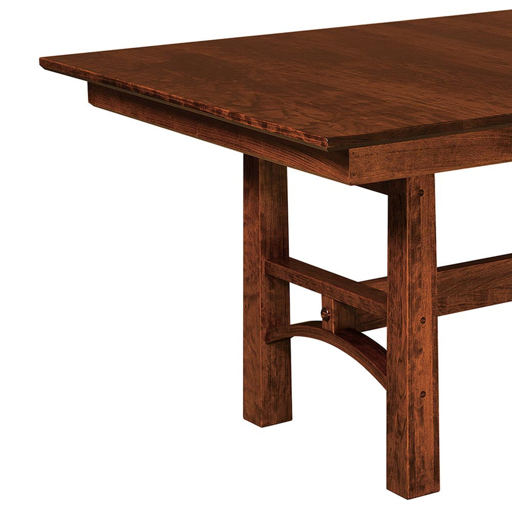 Design Trestle Table bridgeport trestle expansion table home and timber timber