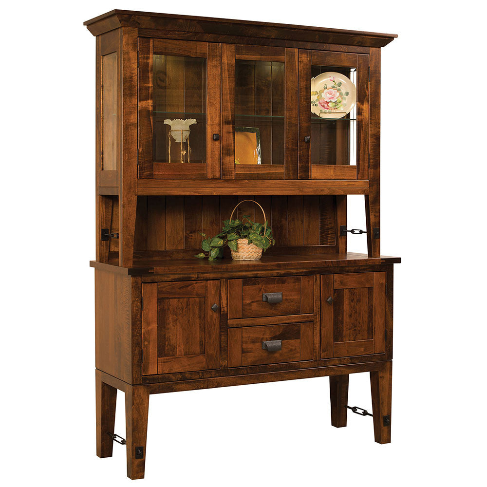 Bridgton Buffet and Hutch | Home and Timber